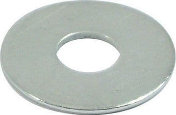M12 x 37mm Washer zinc plated steel CHOOSE QUANTITY