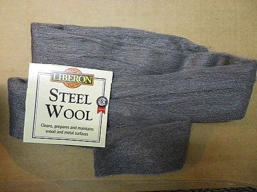 NEW Top Quality Liberon Steel Wire Wool 0000 Ultra fine - 1 Meter Pack FREE POST