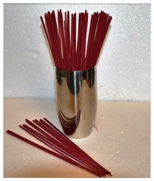 25, 50, or 100 Highly Scented & Coloured Indian Incense Sticks. Just select quantity and fragrance