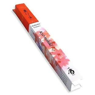 Japanese Incense Shoyeido  Kyo-Nishiki / Kyoto Autumn Leaves - 35 Incense Sticks