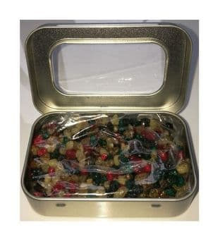 Natural Resin Incense | MEDITATION | 50 gram packet In a silver coloured tin