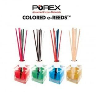 Porex E-Reeds.. Orange.. pack of 50... Coloured Diffuser Reeds