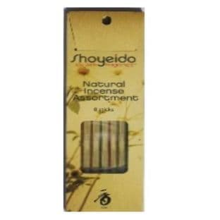 Shoyeido | Japanese Incense | Natural Incense Assortment | 8 Sticks