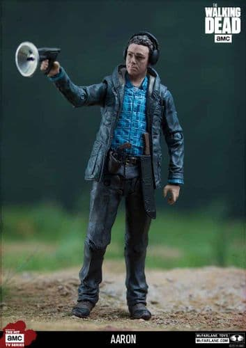 "THE WALKING DEAD TV AARON 5"" EXCLUSIVE ACTION FIGURE FROM MCFARLANE TOYS"