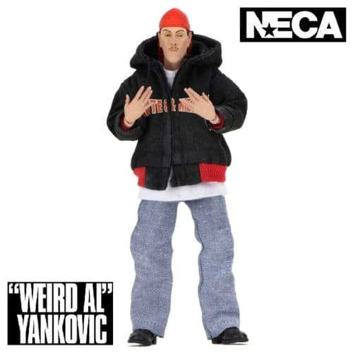 "WEIRD AL YANKOVIC CLOTHED 8"" ACTION FIGURE FROM NECA"