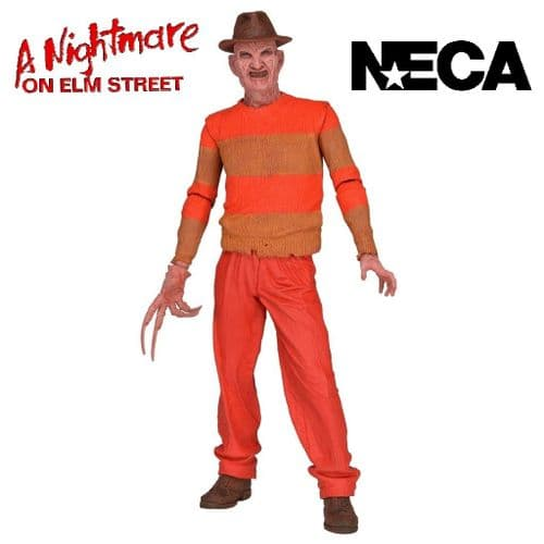 "A NIGHTMARE ON ELM STREET 7"" VIDEO GAME APPEARANCE FREDDY KRUEGER ACTION FIGURE FROM NECA"