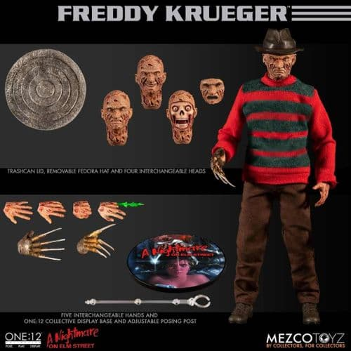 A NIGHTMARE ON ELM STREET ONE:12 COLLECTIVE FREDDY KRUEGER ACTION FIGURE FROM MEZCO TOYZ
