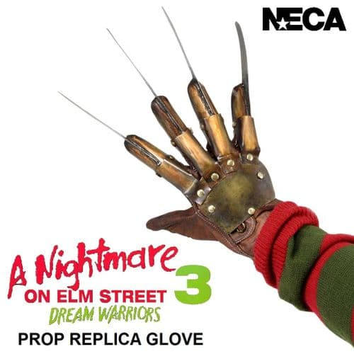 A NIGHTMARE ON ELM STREET PART 3 DREAM WARRIORS PROP REPLICA GLOVE FROM NECA