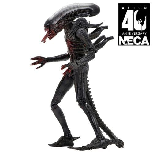 "ALIEN 40TH ANNIVERSARY SERIES 2 7"" SCALE BIG CHAP BLOODY VARIANT ACTION FIGURE FROM NECA"