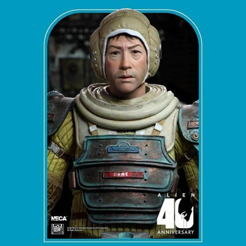 """ALIEN 40TH ANNIVERSARY SERIES 3 7"""" SCALE KANE ACTION FIGURE FROM NECA"""