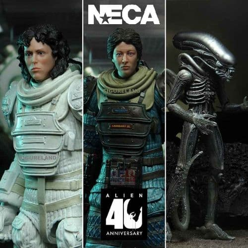 ALIEN 40TH ANNIVERSARY WAVE 4 ACTION FIGURES ASSORTMENT FROM NECA