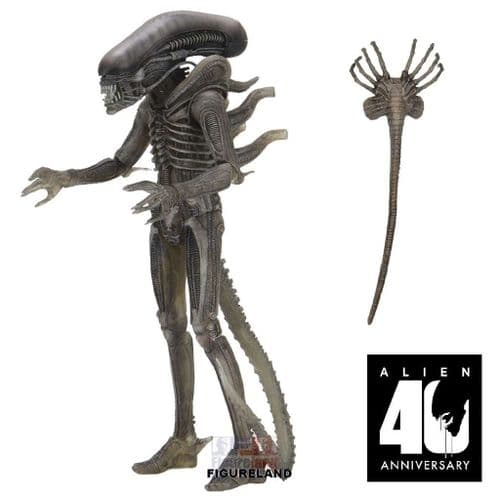 ALIEN 40TH ANNIVERSARY WAVE 4 HR GIGERS ALIEN ACTION FIGURE FROM NECA