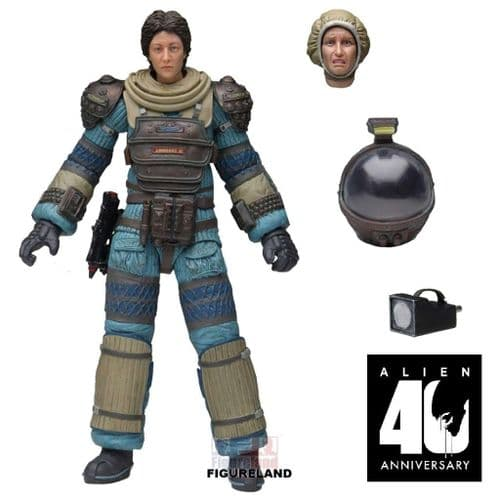 ALIEN 40TH ANNIVERSARY WAVE 4 LAMBERT IN COMPRESSION SUIT ACTION FIGURE FROM NECA