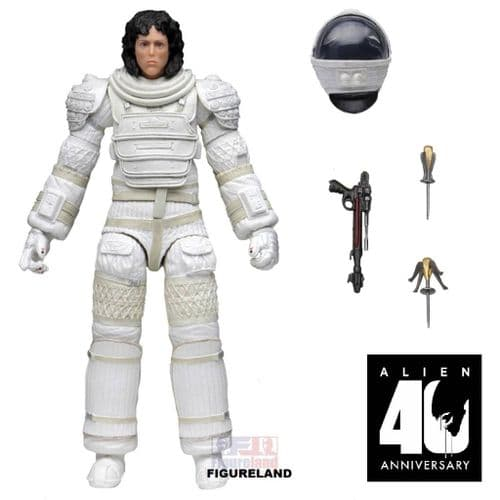 ALIEN 40TH ANNIVERSARY WAVE 4 RIPLEY IN COMPRESSION SUIT ACTION FIGURE FROM NECA