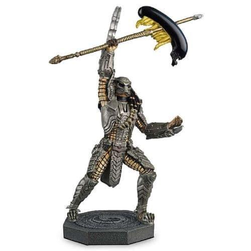 ALIEN & PREDATOR COLLECTION ALIEN VS PREDATOR 1:16 SCAR PREDATOR FIGURINE FROM EAGLEMOSS