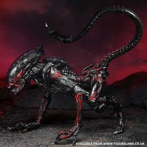 ALIENS NIGHT COUGAR ALIEN (KENNER TRIBUTE) 7 INCH SCALE ACTION FIGURE FROM NECA