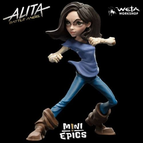 "ALITA: BATTLE ANGEL MINI EPICS 7"" VINYL FIGURE ALITA FROM WETA WORKSHOP"