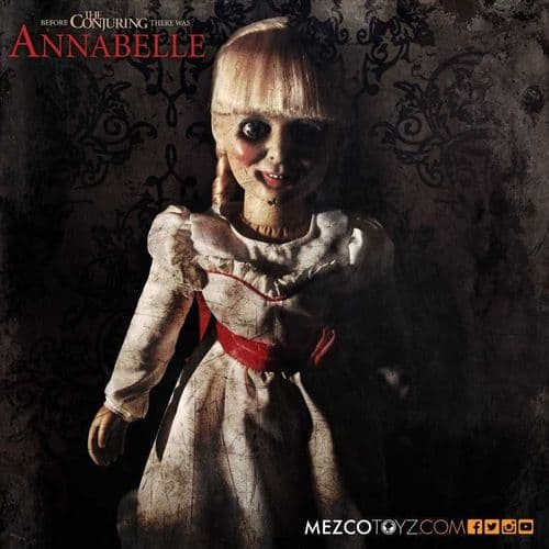 "ANNABELLE  18"" PROP REPLICA DOLL FROM MEZCO TOYZ"