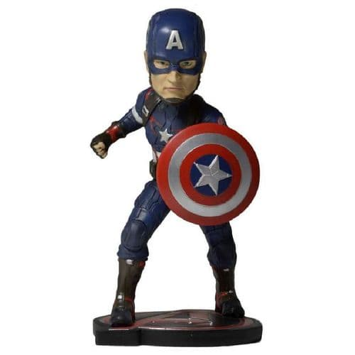 AVENGERS AGE OF ULTRON - CAPTAIN AMERICA HEAD KNOCKER EXTREME FROM NECA