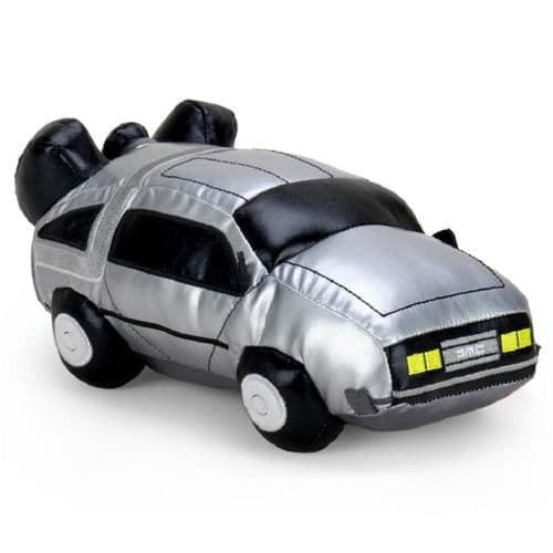 "BACK TO THE FUTURE 11"" DELOREAN PLUSH FROM KIDROBOT"