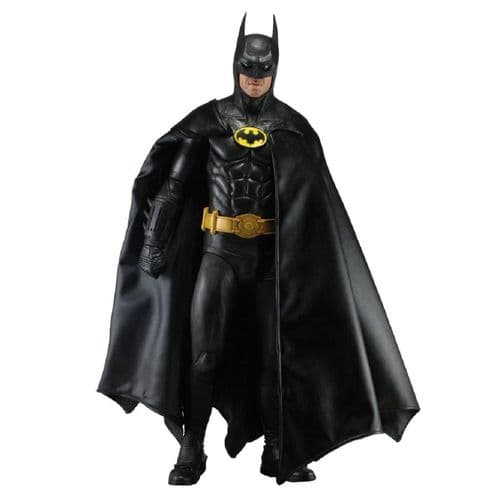 BATMAN 1:4 SCALE 1989 BATMAN (MICHAEL KEATON) ACTION FIGURE FROM NECA