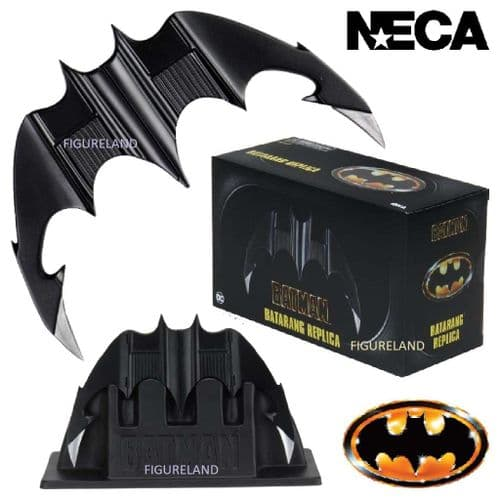 BATMAN 1989 PROP REPLICA BATARANG FROM NECA