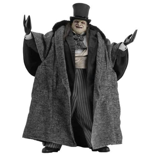 BATMAN RETURNS 1:4 SCALE MAYORAL PENGUIN (DANNY DEVITO) ACTION FIGURE FROM NECA
