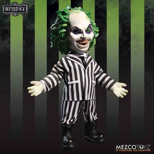 "BEETLEJUICE 15"" MEGA SCALE ACTION FIGURE FROM MEZCO TOYZ"