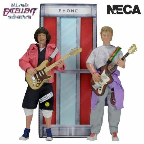BILL AND TED'S EXCELLENT ADVENTURE WYLD STALLYNS CLOTHED ACTION FIGURES FROM NECA