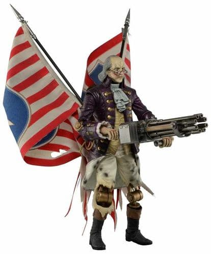 "BIOSHOCK INFINITE 9"" FRANKLIN PATRIOT ACTION FIGURE FROM NECA"