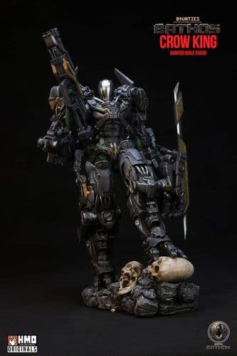 BOUNTIES OF BATHOS - CROW KING 1:4 SCALE PREMIUM STATUE FROM HMO COLLECTIBLES