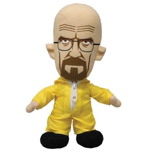 "BREAKING BAD 8"" WALTER WHITE PLUSH IN YELLOW HAZMAT SUIT FROM MEZCO TOYZ"