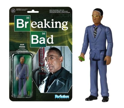 BREAKING BAD GUSTAVO FRING REACTION ACTION FIGURE BY FUNKO