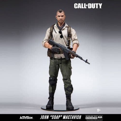 "CALL OF DUTY JOHN ""SOAP"" MACTAVISH 6"" ACTION FIGURE FROM MCFARLANE TOYS"