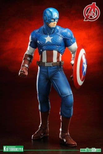 CAPTAIN AMERICA - MARVEL COMICS AVENGERS NOW ARTFX+ STATUE FROM KOTOBUKIYA