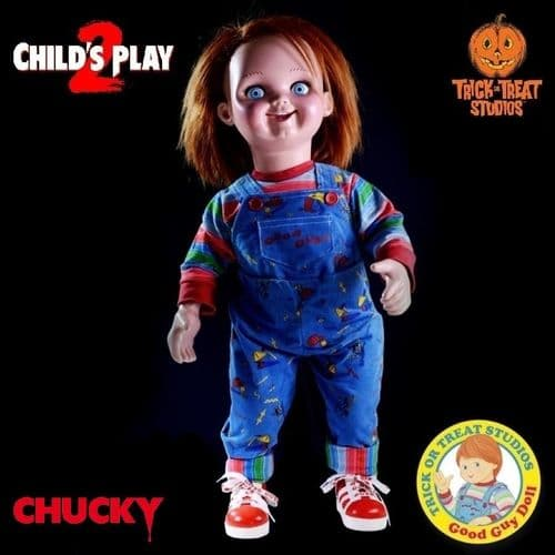 CHILD'S PLAY 2 CHUCKY PROP REPLICA GOOD GUYS DOLL FROM TRICK OR TREAT STUDIOS