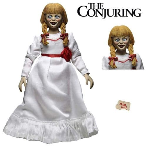 "CONJURING UNIVERSE ANNABELLE 8"" CLOTHED ACTION FIGURE FROM NECA"