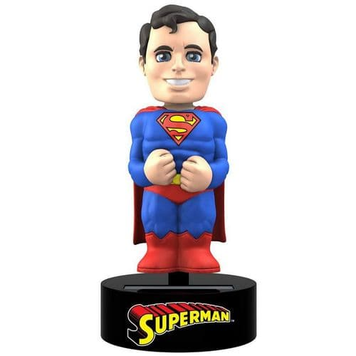 DC COMICS SUPERMAN SOLAR POWERED BODY KNOCKER FROM NECA