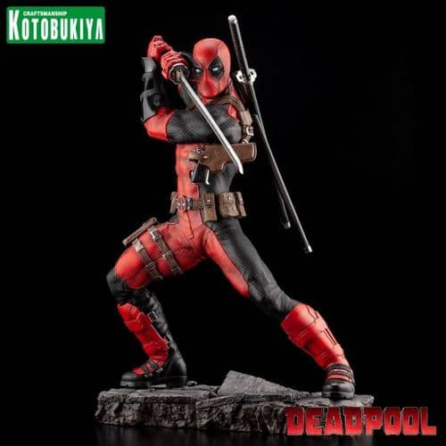 DEADPOOL MAXIMUM FINE ART STATUE FROM KOTOBUKIYA