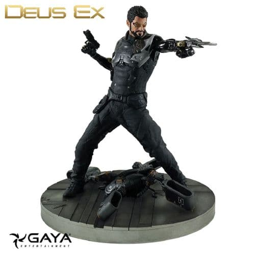 DEUS EX  MANKIND DIVIDED ADAM JENSON PVC STATUE FROM GAYA ENTERTAINMENT