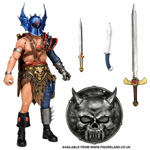 """DUNGEONS AND DRAGONS ULTIMATE WARDUKE 7"""" SCALE ACTION FIGURE FROM NECA"""