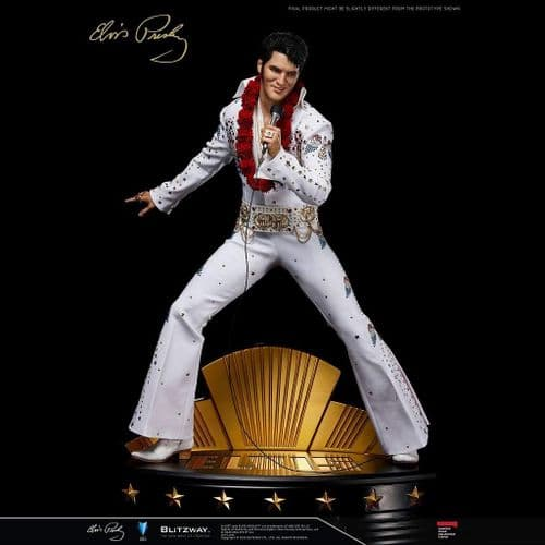 ELVIS PRESLEY 1:4 SUPERB SCALE HYBRID STATUE FROM BLITZWAY
