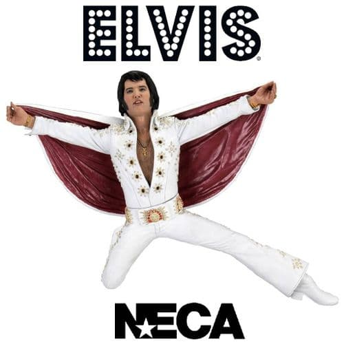 "ELVIS PRESLEY LIVE IN '72 7"" SCALE ACTION FIGURE FROM NECA"