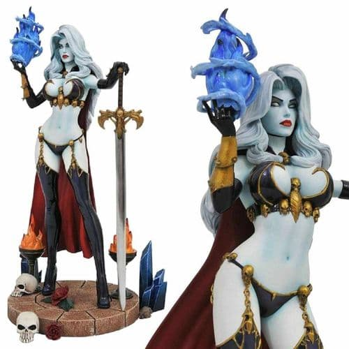 FEMME FATALES LADY DEATH IV STATUE FROM DIAMOND SELECT TOYS