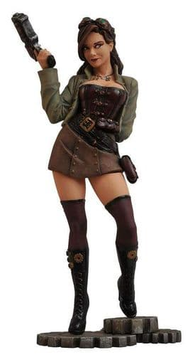 "FEMME FATALES STEAMPUNK LEXI 9"" STATUE FROM DIAMOND SELECT TOYS"