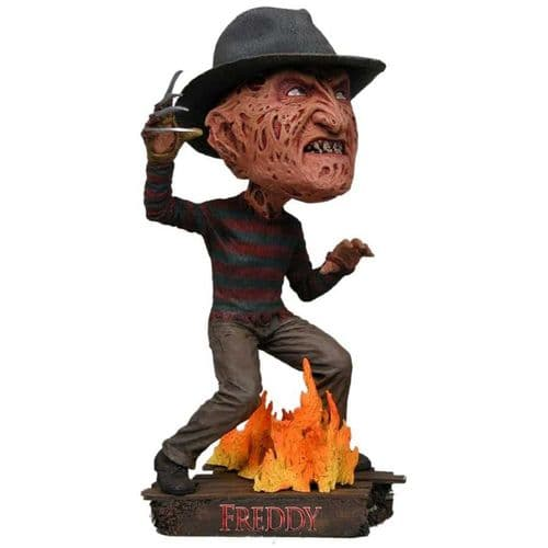 FREDDY VS JASON FREDDY KRUEGER HEAD KNOCKER FROM NECA