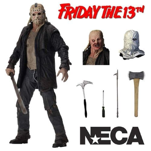"FRIDAY THE 13TH 7"" ULTIMATE 2009 JASON ACTION FIGURE FROM NECA"