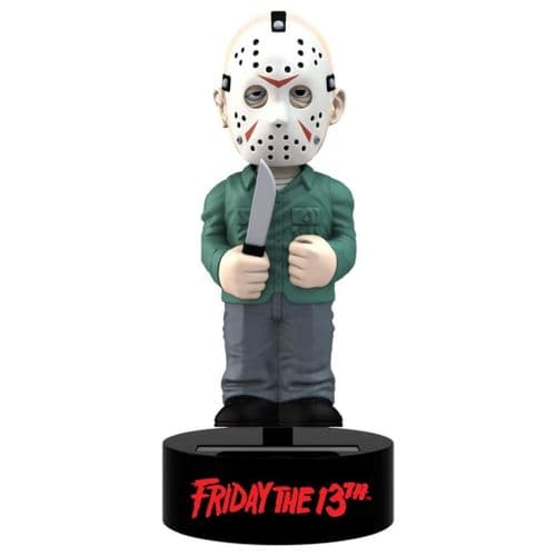 FRIDAY THE 13TH JASON VOORHEES SOLAR POWERED BODY KNOCKER FROM NECA