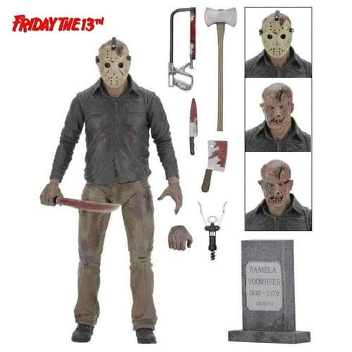 "FRIDAY THE 13TH PART 4 ULTIMATE JASON 7"" ACTION FIGURE FROM NECA"
