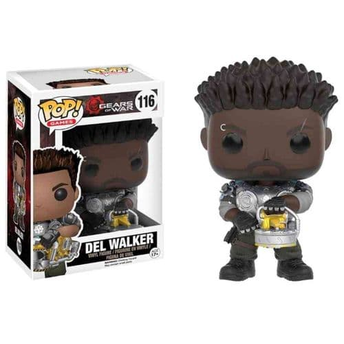 FUNKO POP! GAMES: GEARS OF WAR DEL WALKER VINYL FIGURE